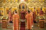 Архиепископ Феофилакт возглавил престольные торжества в Новопавловске