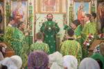 Архиепископ Феофилакт возглавил престольные торжества Свято-Троицкого женского монастыря