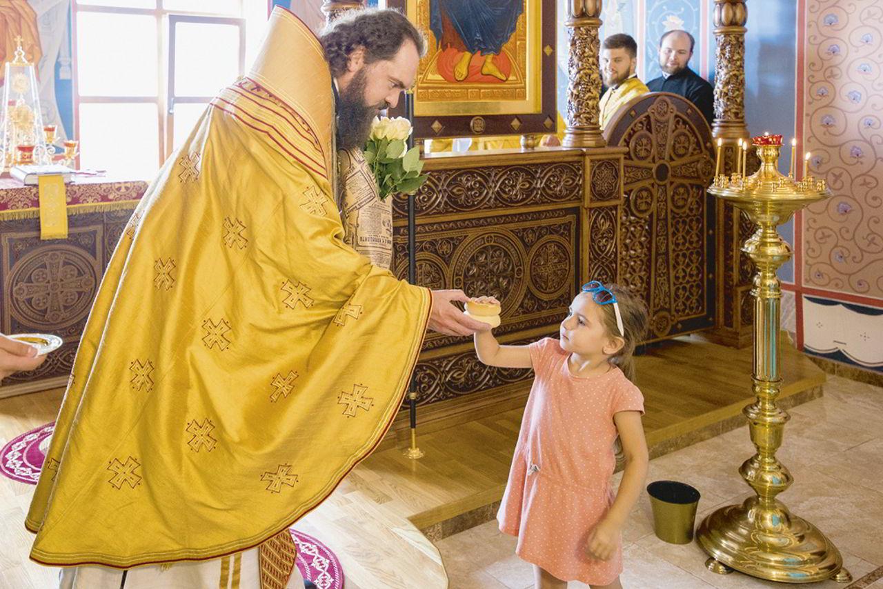 В Иверском храме Пятигорской епархии