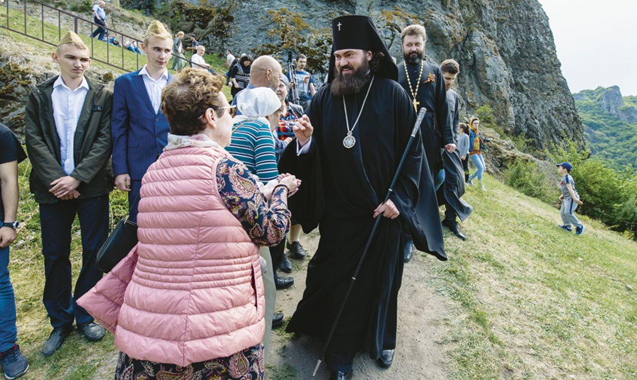 На горе Шоана в Карачаево-Черкесии