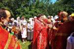 Благочинный возглавил престольный праздник в воинском храме