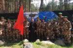 Священник поддержал участников чемпионата по военному альпинизму