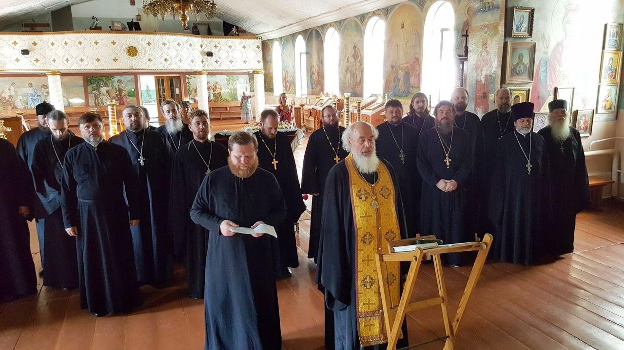 В Нальчике состоялось собрание и исповедь духовенства благочиния