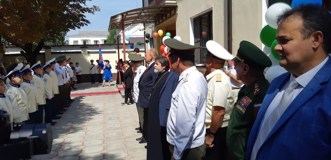 В Нальчике открыли новое здание кадетского корпуса
