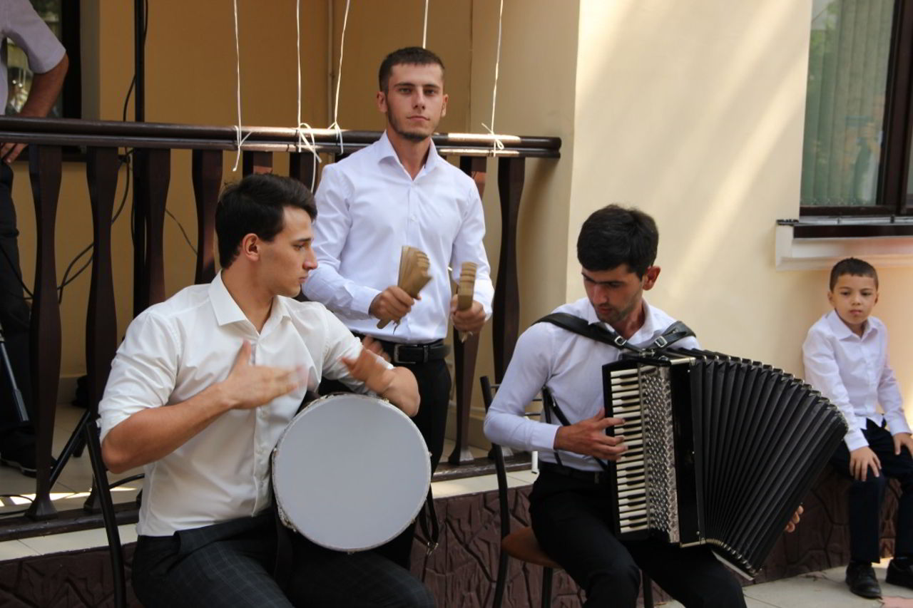 Торжественное открытие общежития Музыкального кадетского корпуса СКГИИ (Фото - Сопова Алина)