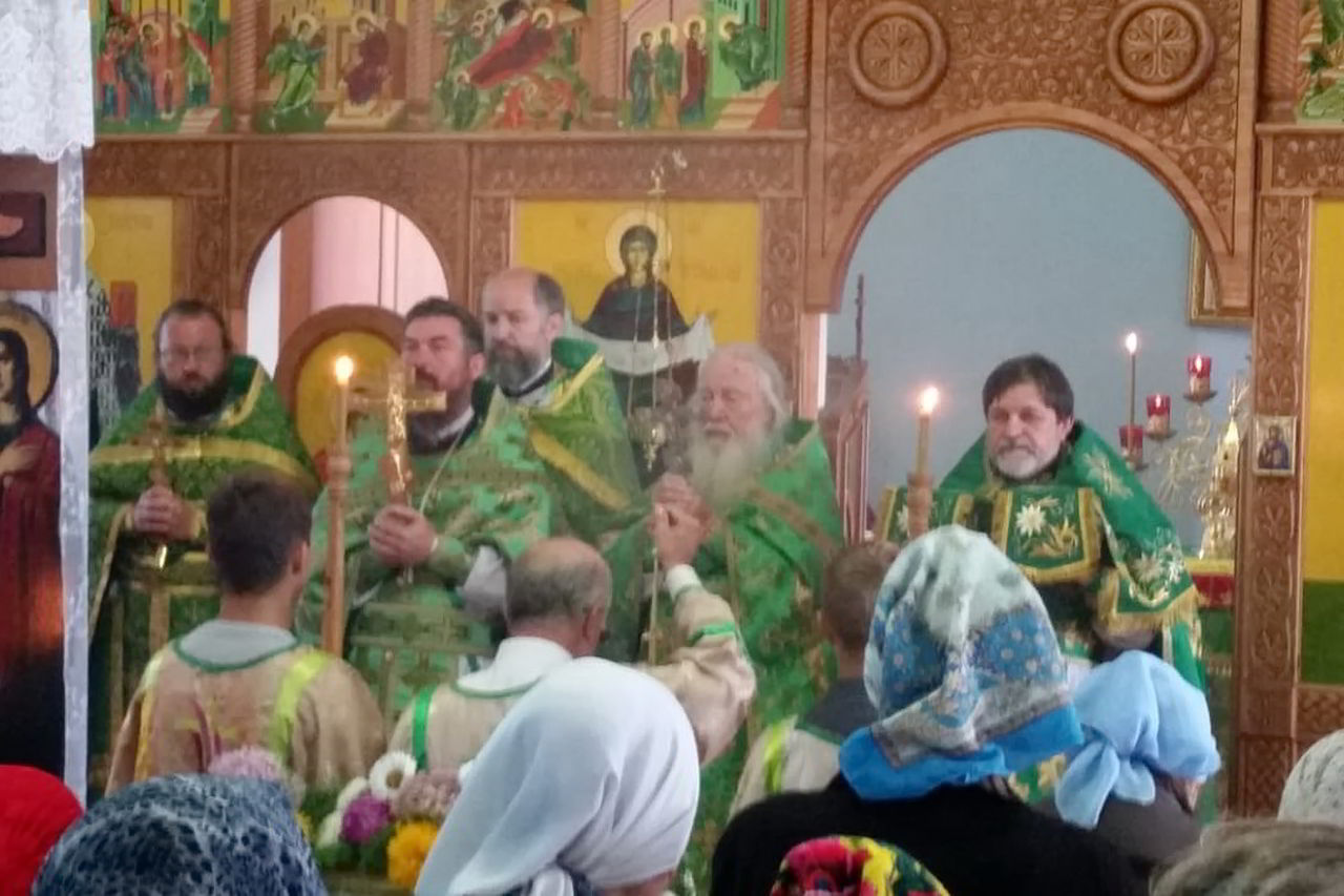 На престольном празднике помолились воспитанники приюта