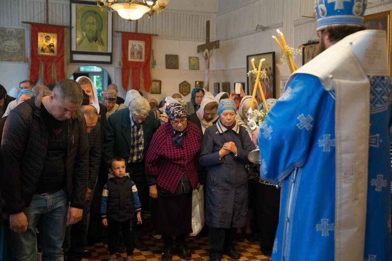 Архиепископ Феофилакт возглавил торжества в селе Кременчуг-Константиновском