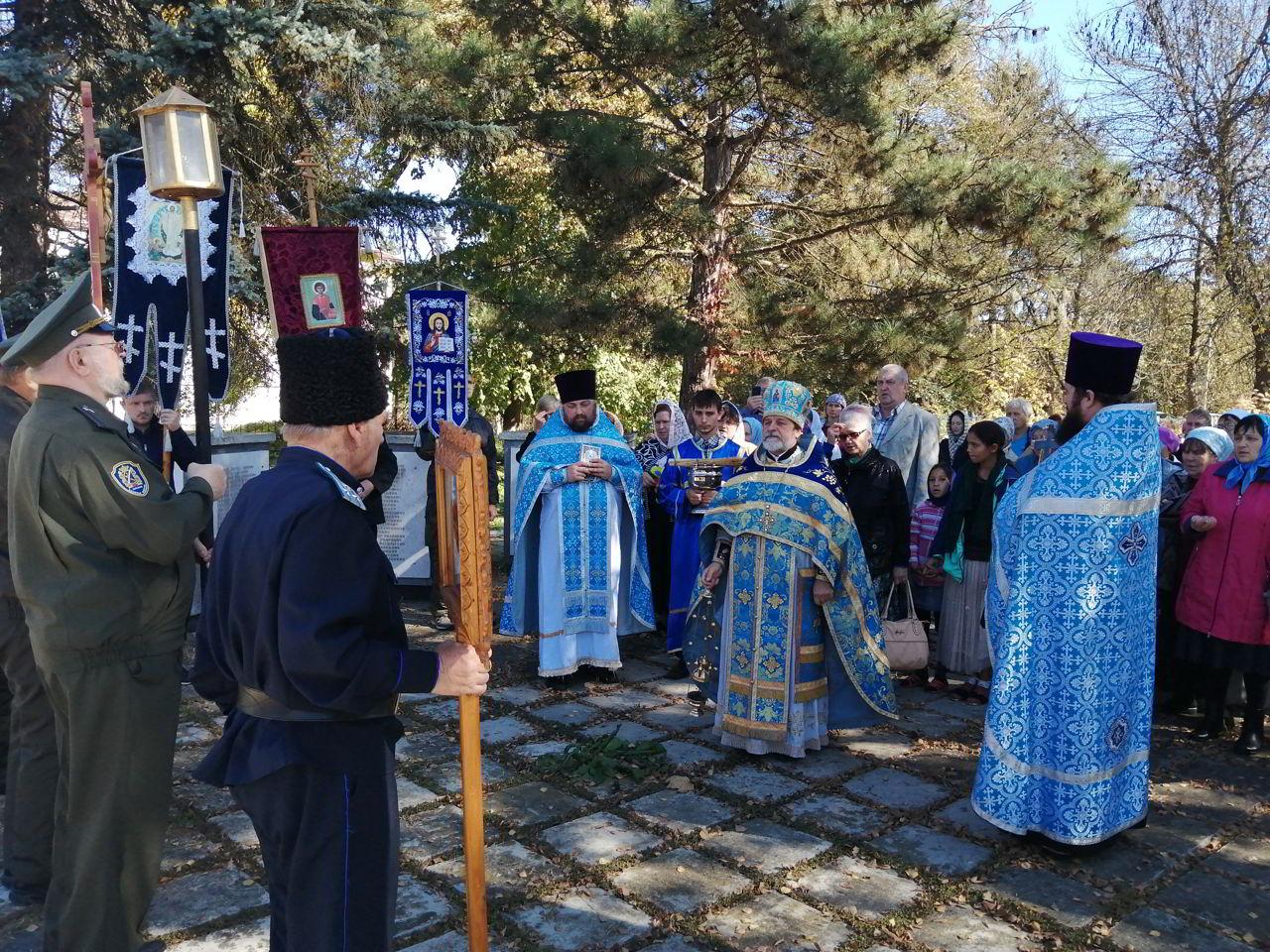 Престольный праздник отметил станичный храм