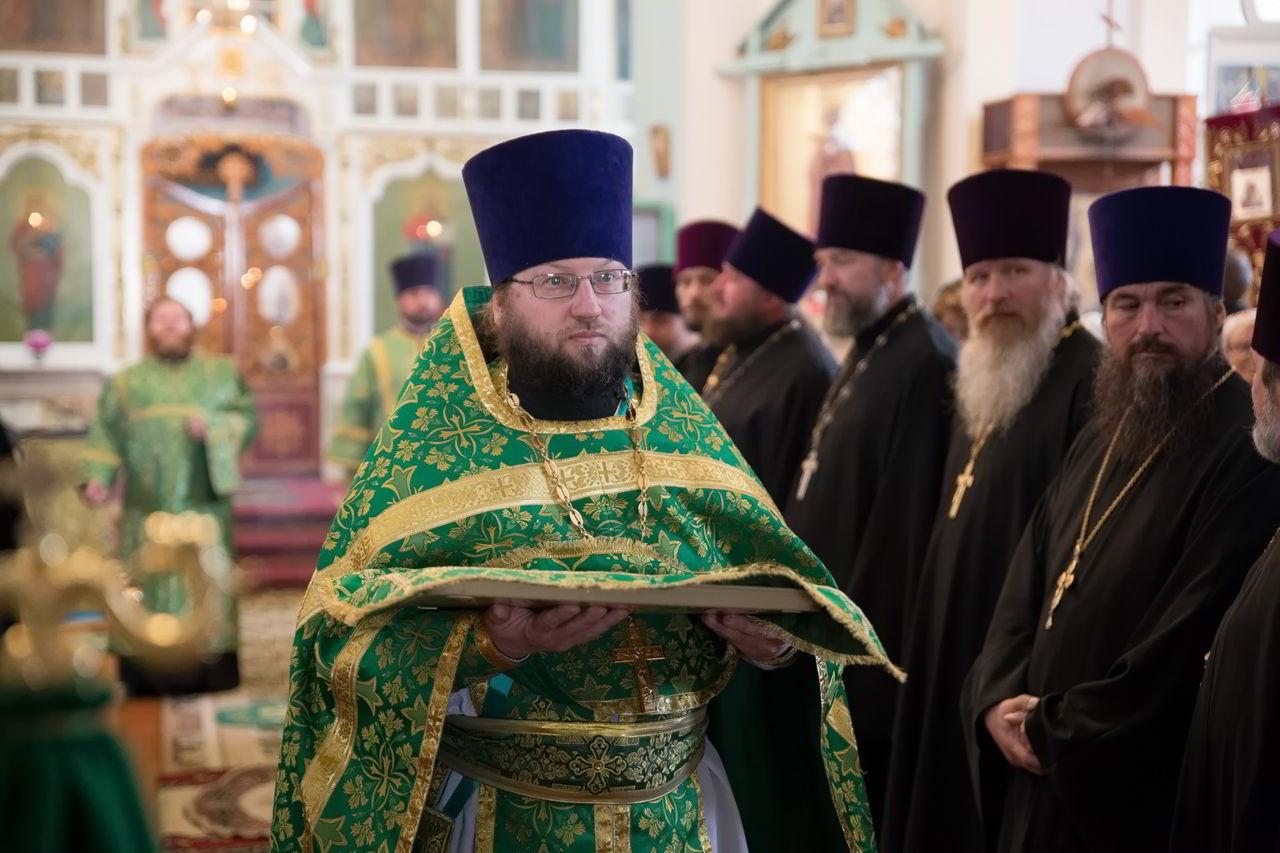 Архиепископ Феофилакт возглавил престольный праздник в станице Екатериноградской