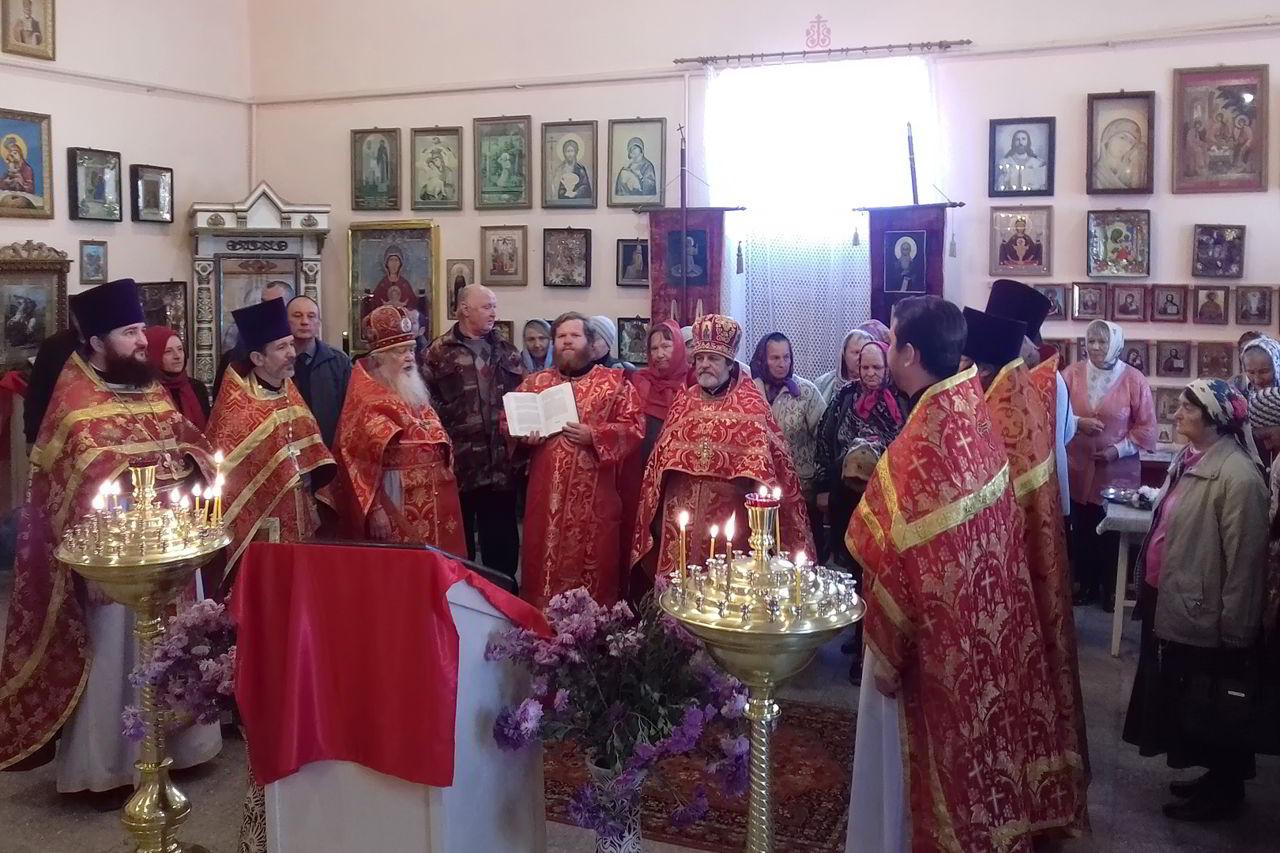 В станице Приближной встретили престольный праздник