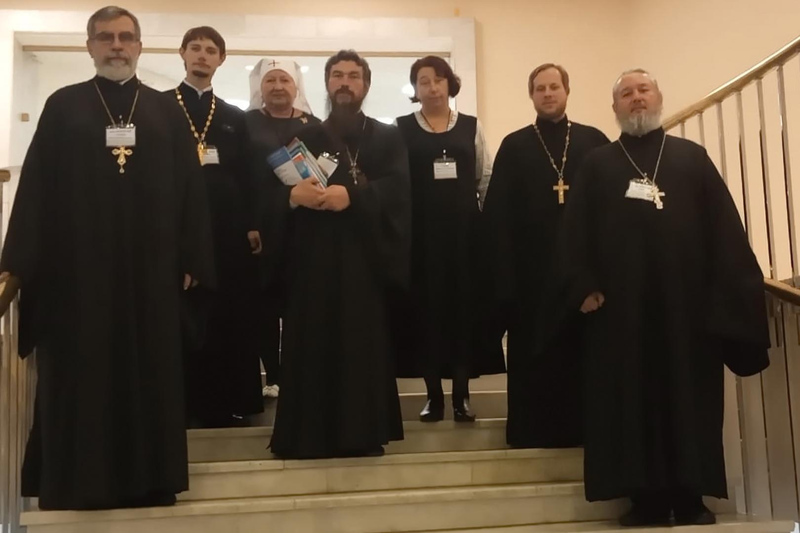 Делегация Пятигорской и Черкесской епархии работает на IX Общецерковном съезде по социальному служению