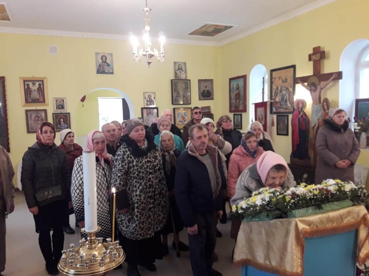 В села Красносельское встретили престольный праздник