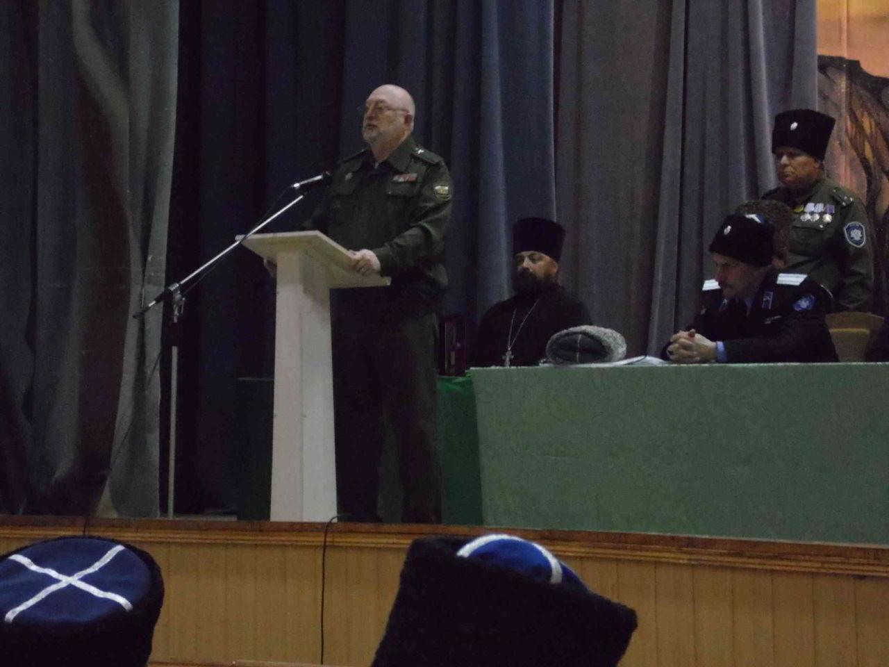 Терско-Малкинский казачий округ отчитался о работе