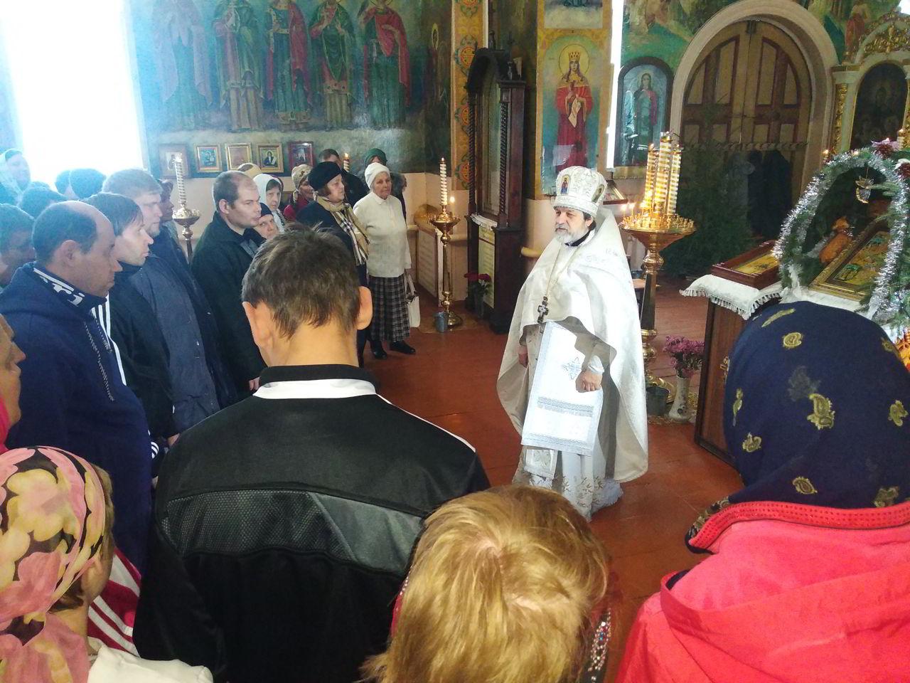 Жильцы интерната посетили Симеоновский собор