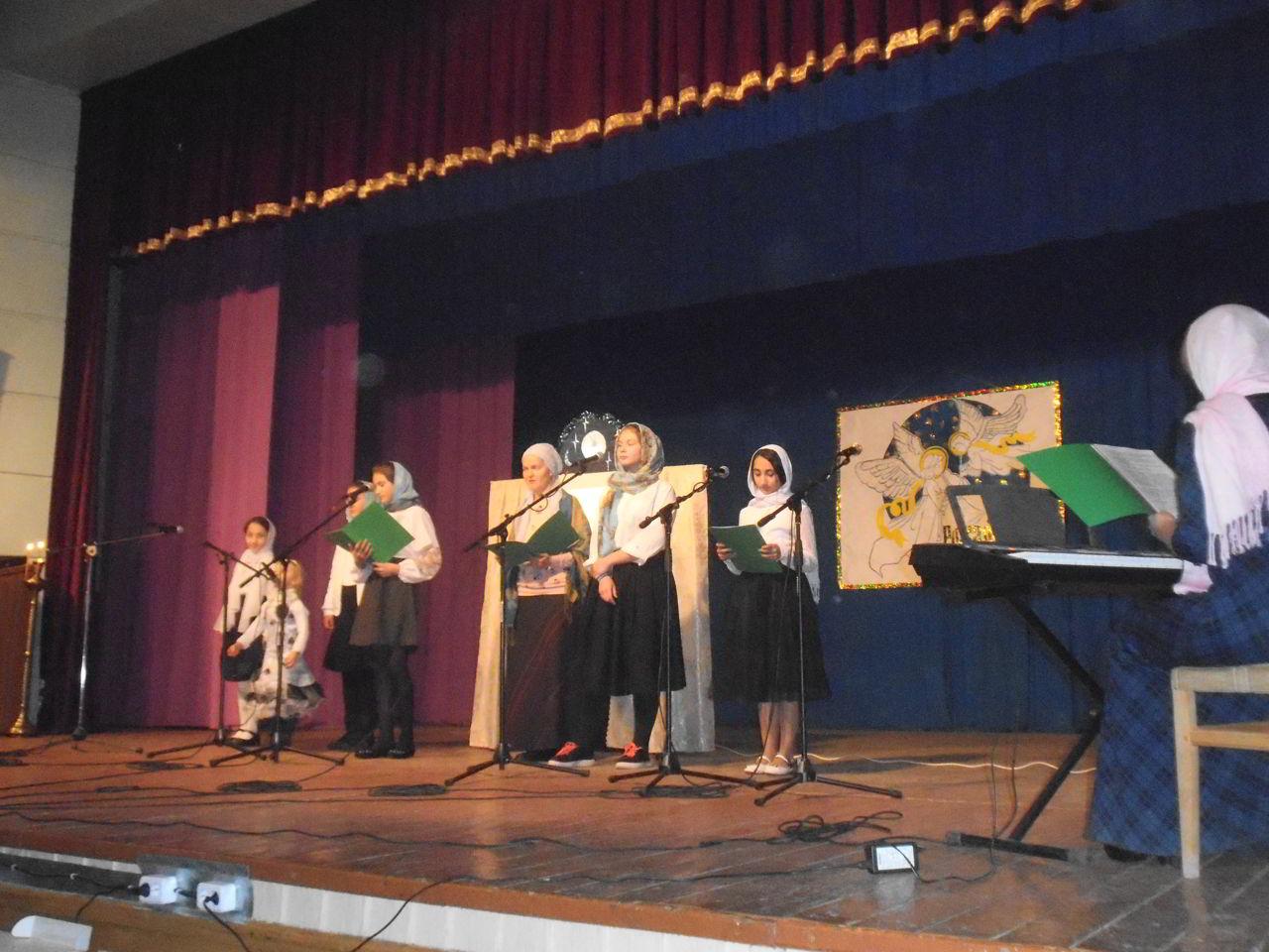 Фестиваль «Рождественский ангел» провели в Екатериноградской