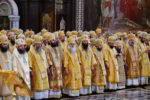 Архиепископ Феофилакт сослужил Святейшему Патриарху Кириллу