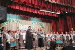 Настоятель поздравил с юбилеем детский фольклорный ансамбль