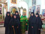 Благочинный совершил праздничное богослужение в Свято-Троицком храме монастыря в селе Совхозное Зольского района КБР
