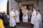 Архиепископ Феофилакт возглавил престольные торжества в храме Рождества Христова села Благовещенка