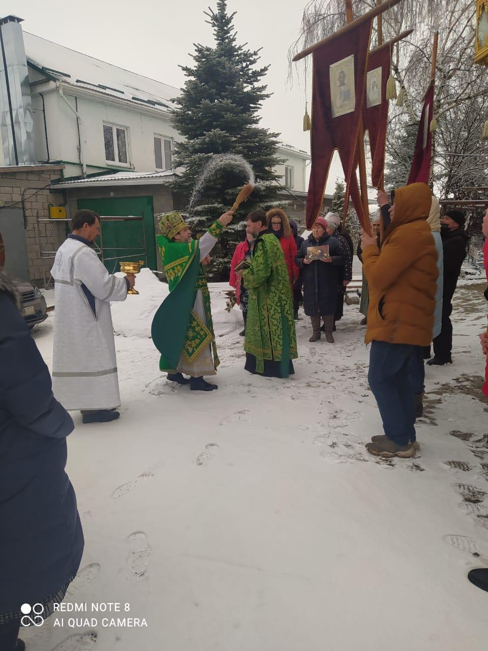 В Свято-Троицком монастыре села Совхозное совершили славление преподобному Серафиму Саровскому