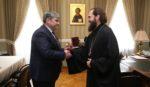 Глава КБР поздравил архиепископа Феофилакта с юбилеем епархии