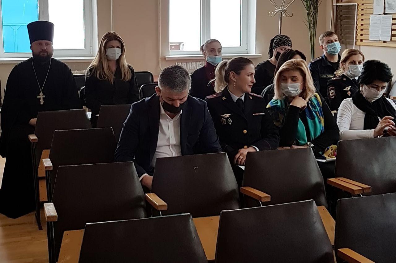 Священник участвовал в работе Общественного совета реабилитационного центра